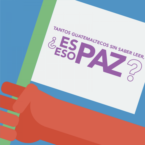 Los Acuerdos de Paz hablan de garantizar educación básica a todos los guatemaltecos. ¿Y si los cumplimos?
