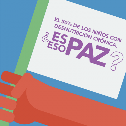 Los Acuerdos de Paz hablan de garantizar una vida digna para todos guatemaltecos, ¿Y si los cumplimos?