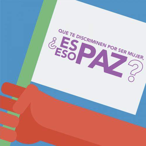 Los Acuerdos de Paz hablan de la inclusión de la mujer en la vida laboral ¿Y si los cumplimos?