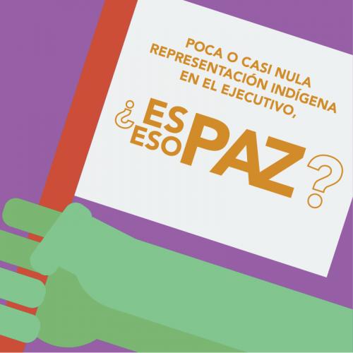 Los Acuerdos de Paz hablan de garantizar un Estado inclusivo ¿Y si los cumplimos?